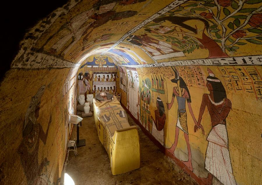 Staroegyptská hrobka
